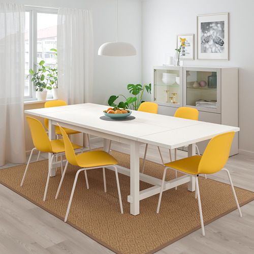 LEIFARNE/NORDVIKEN table and 4 chairs