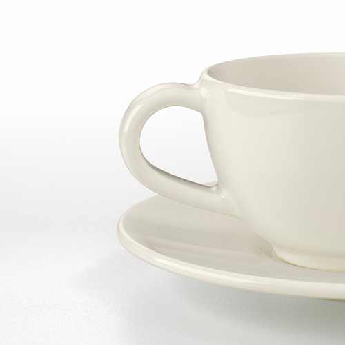 VARDAGEN чашка кофейная с блюдцем