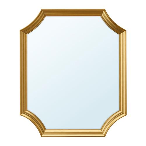 SVANSELE, spogulis 53x63 cm zelta krāsā