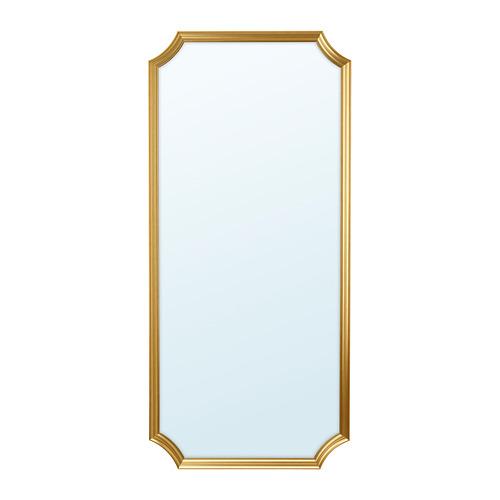 SVANSELE, spogulis 73x158 cm zelta krāsā