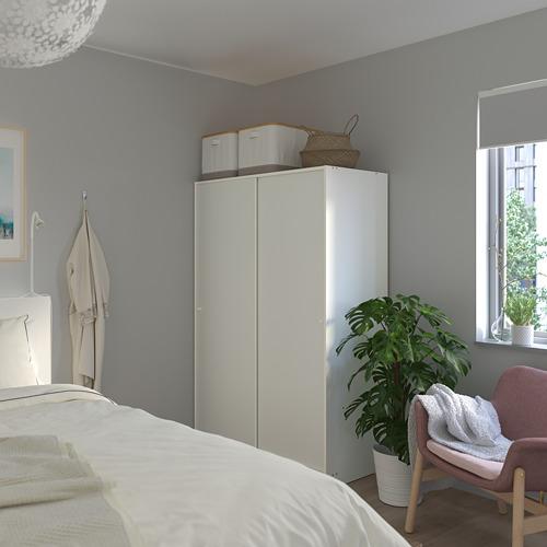 KLEPPSTAD wardrobe with sliding doors