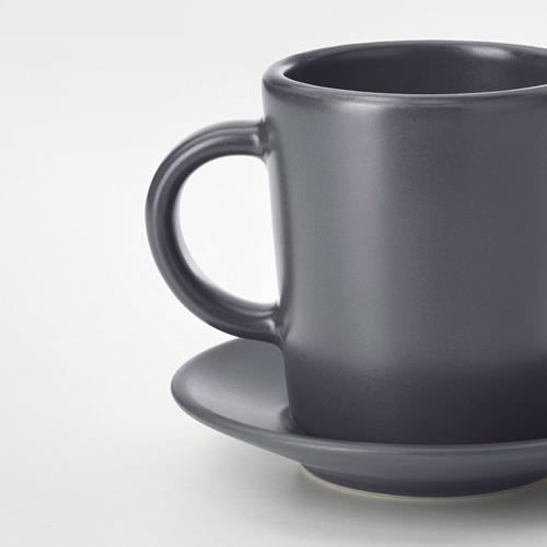DINERA чашка для кофе эспрессо с блюдцем