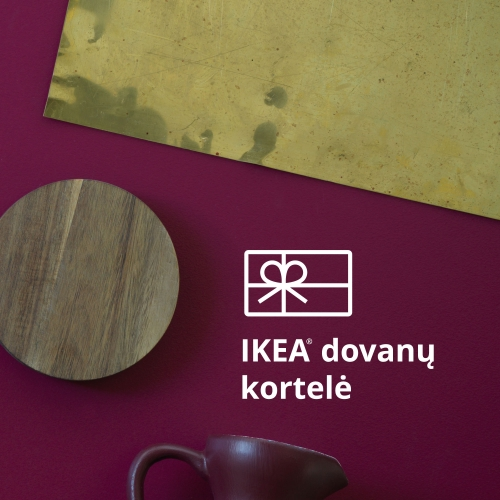 Dovanų kortelė (buy with no other items in the shopping cart)
