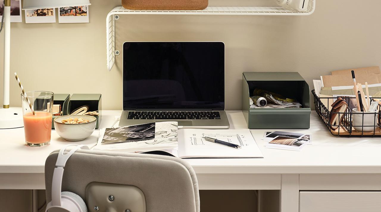 Kaip įsirengti darbo vietą namuose ir produktyviai dirbti