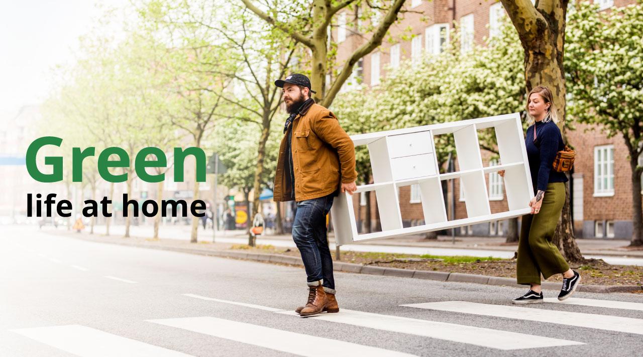 Towards a green life at home