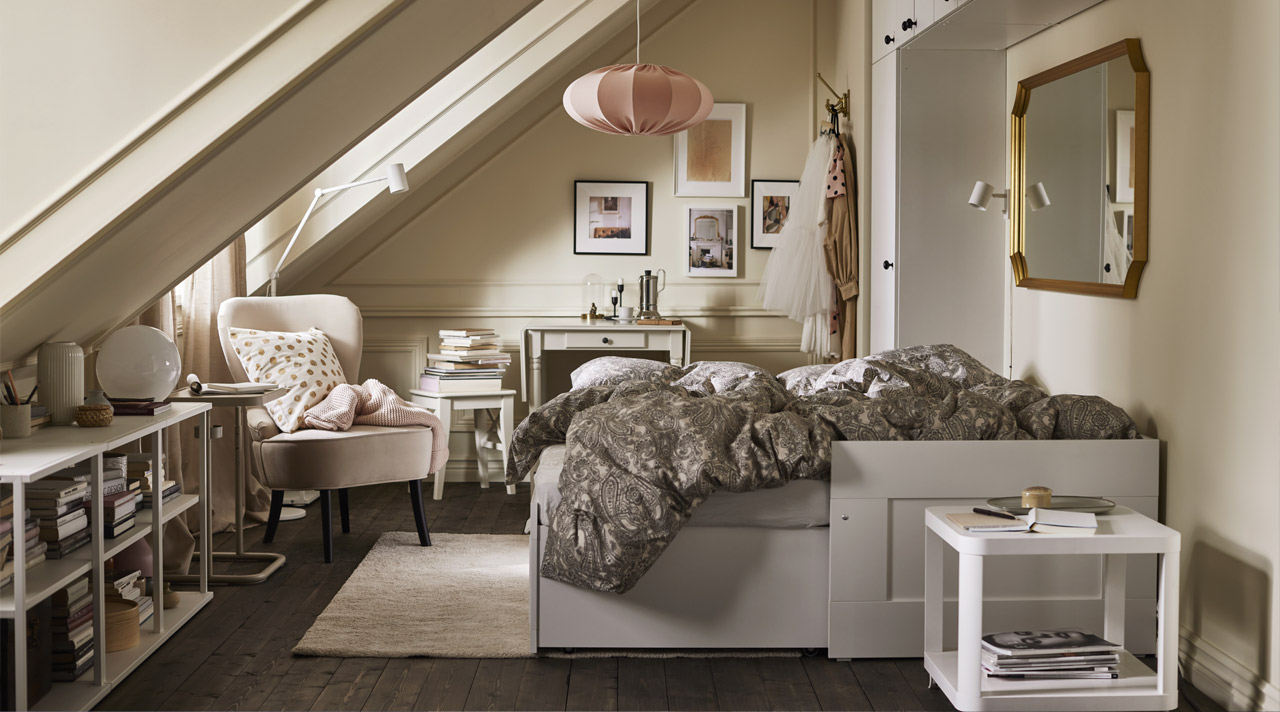 Compact bedroom living to the fullest