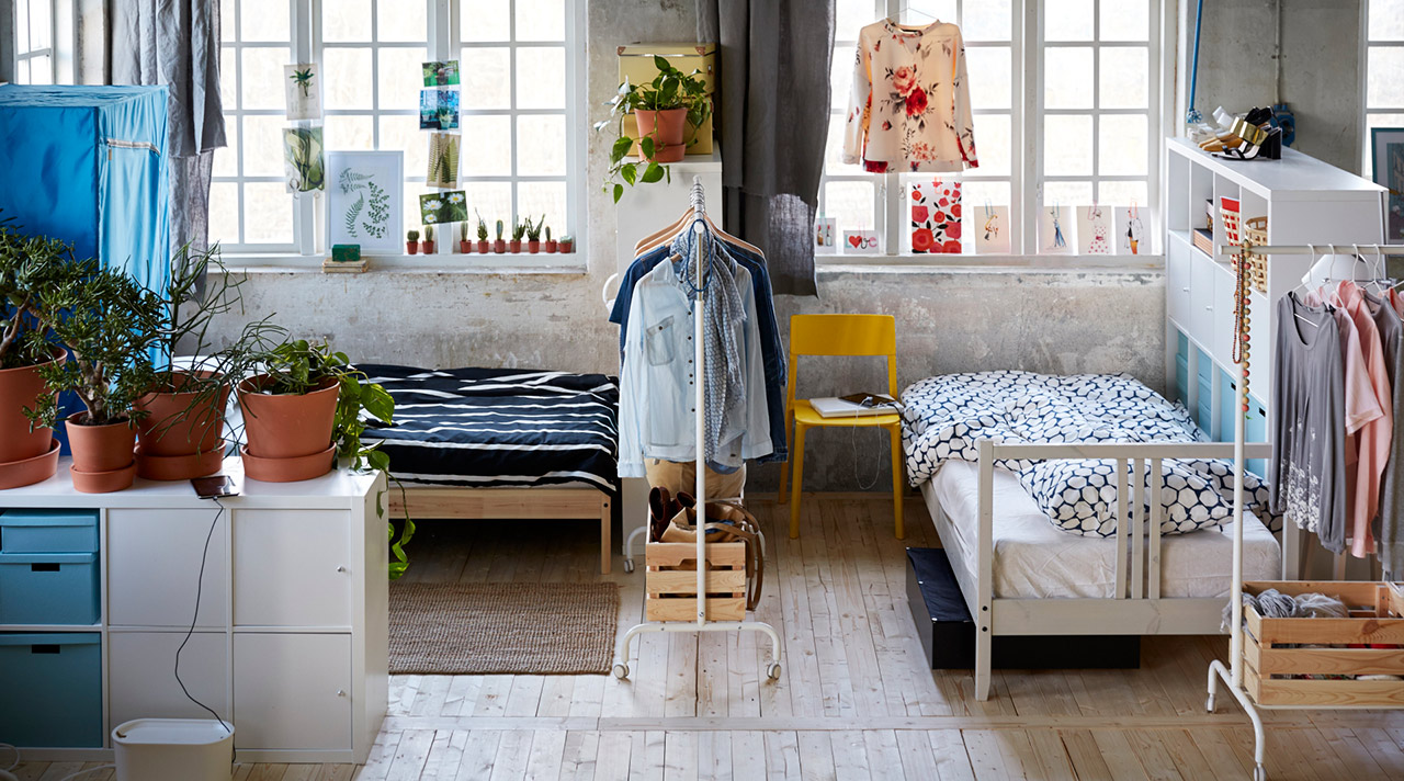 Bold changes for less: storage solutions