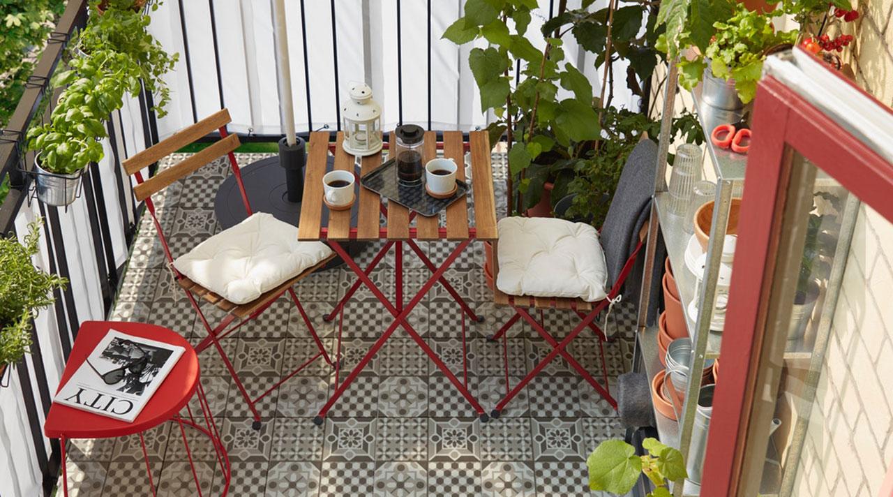 Время посиделок на балконе