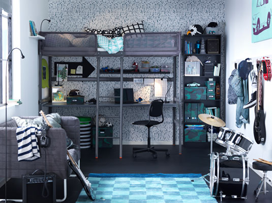A stylish and affordable room for a teenager