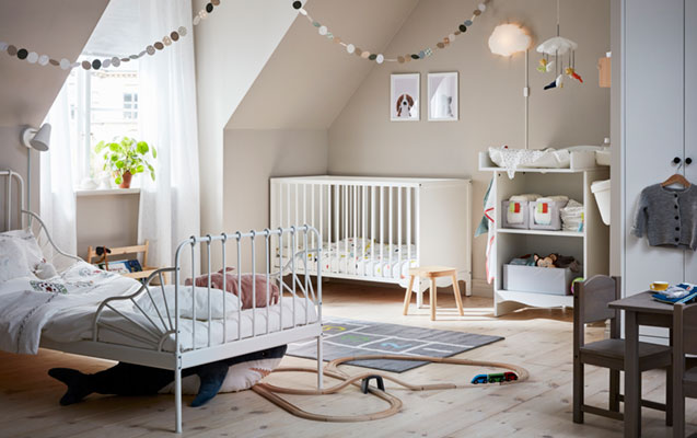 An attic or a children's room? Both.