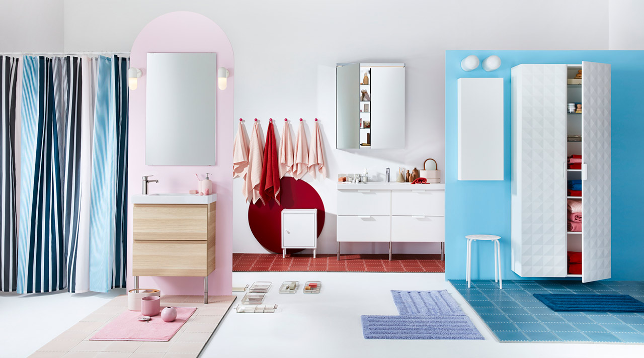 Bring the spring home: pastel palette and minimalism