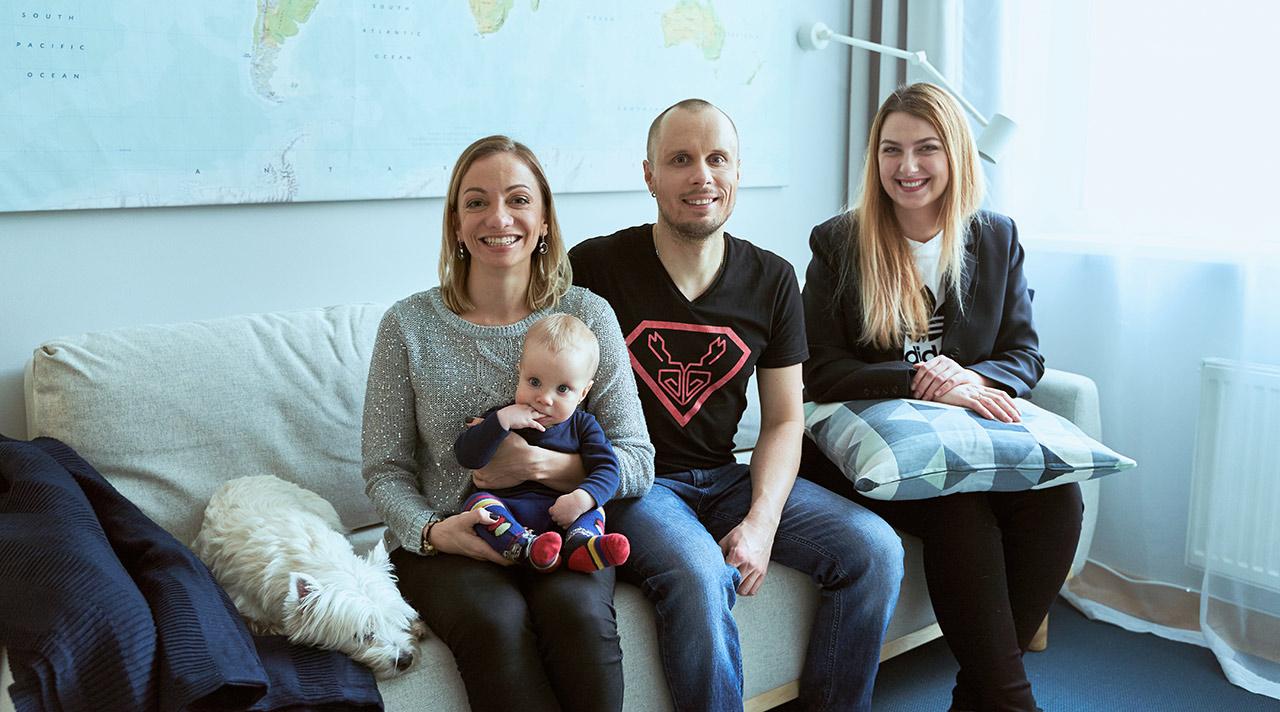 Prieš ir po: pokyčiai jaunos šeimos namuose
