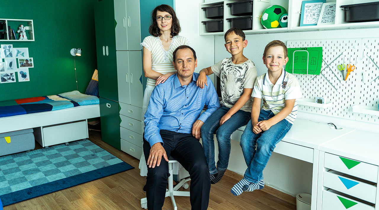 Home idea with IKEA: new beginnings in the upgraded children's room