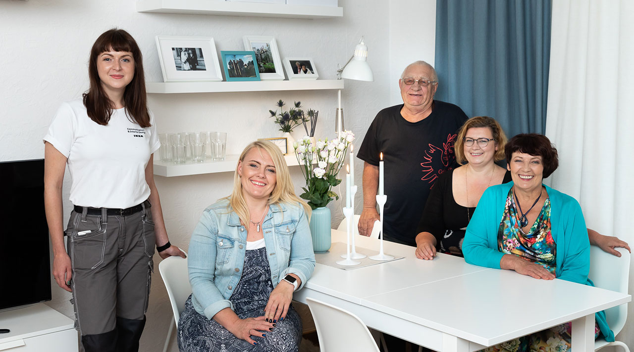 """""""Manas mājas ar IKEA"""" for a new inspiration in the golden wedding anniversary"""