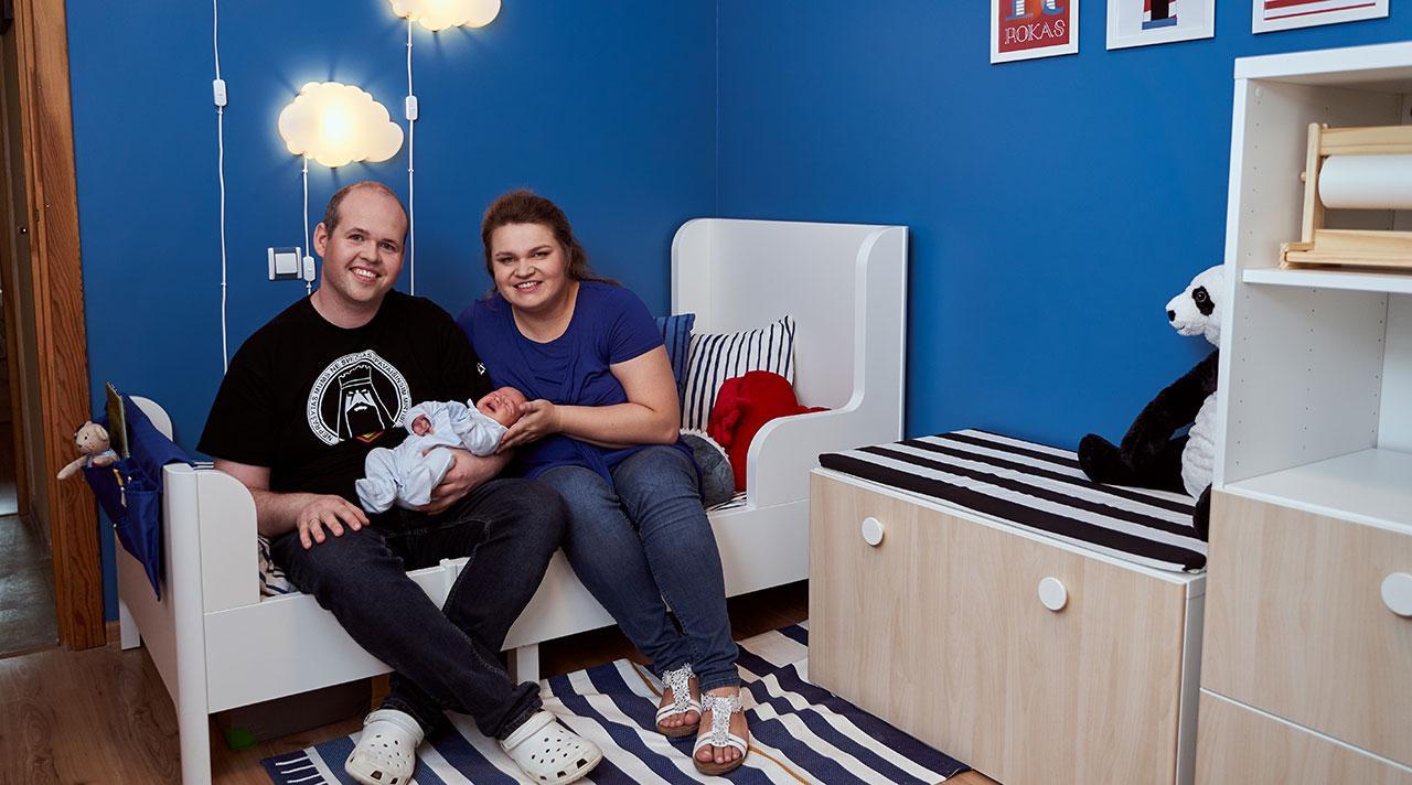 """""""Namų idėja su IKEA"""": naujas kambarys naujam šeimos nariui"""