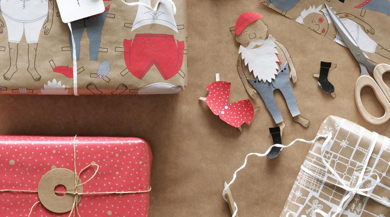 Творческий подход в упаковке подарков