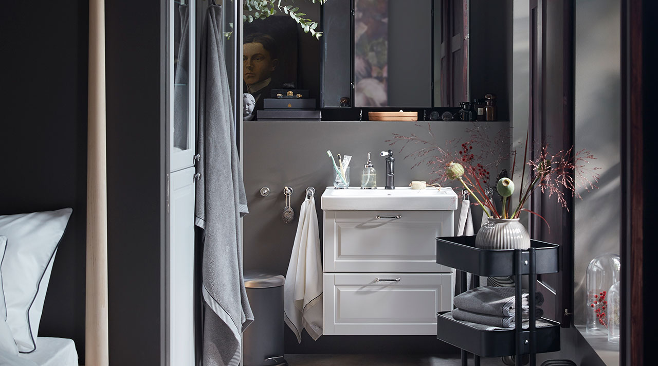 Organize your bathroom, mesmerize yourself