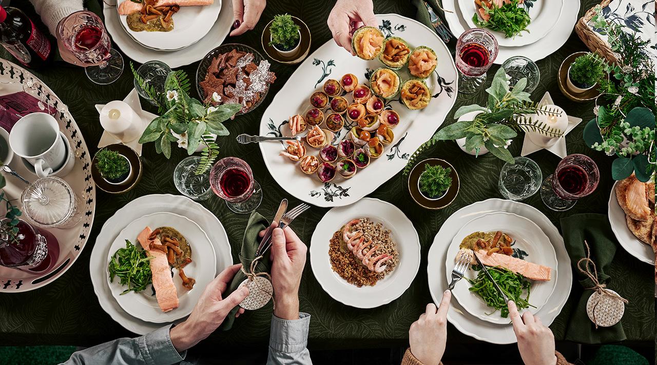 Праздничный ужин для всей семьи всего за 50 €