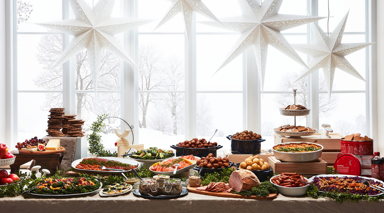 Hearty Christmas meals with IKEA