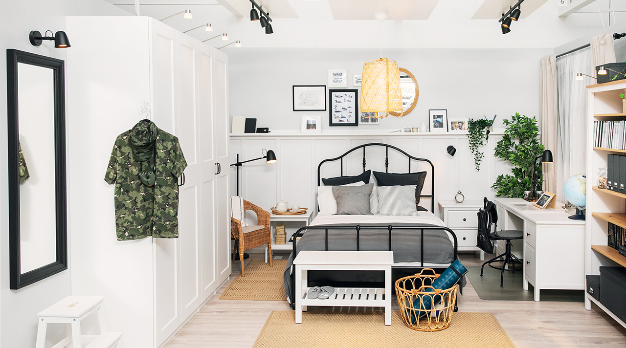 What's new in the IKEA Showroom: one room for work, sleep and hobbies