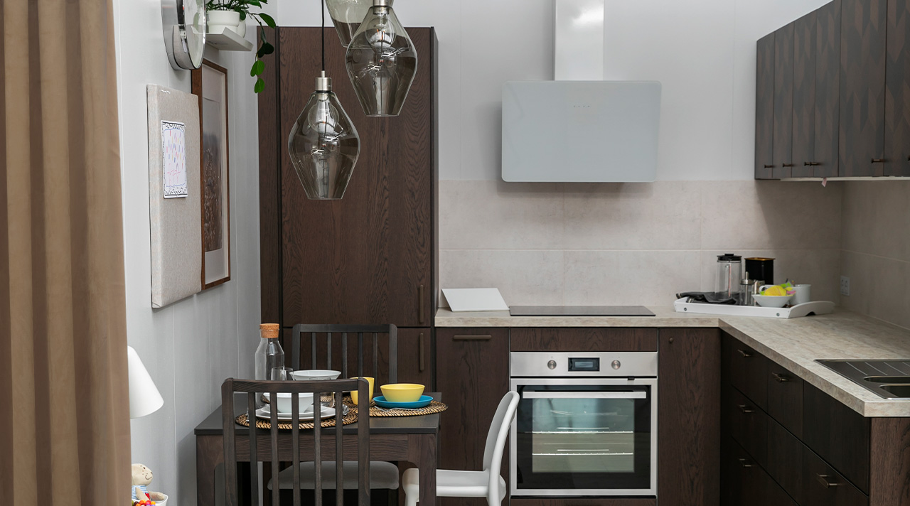 Idea to borrow: how to set up a family-friendly kitchen