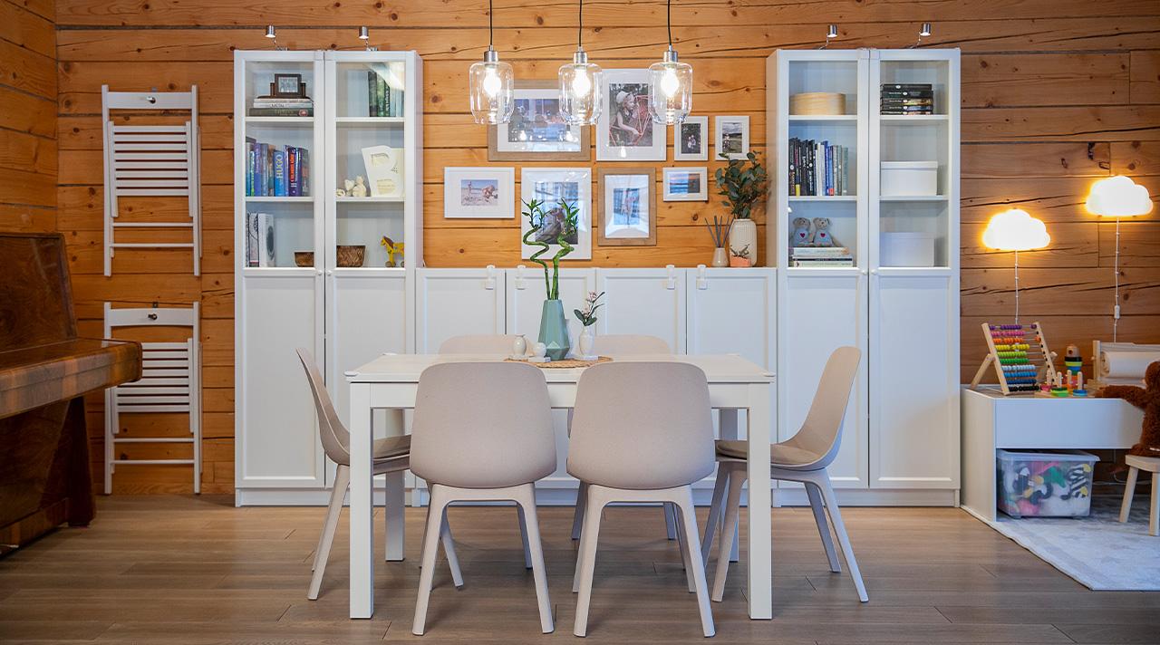 «Мой дом с IKEA»: такая живая гостиная
