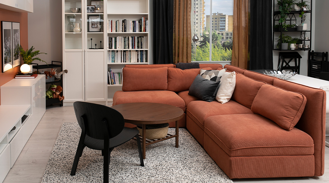 What's new in the IKEA Showroom: one living room for all family needs