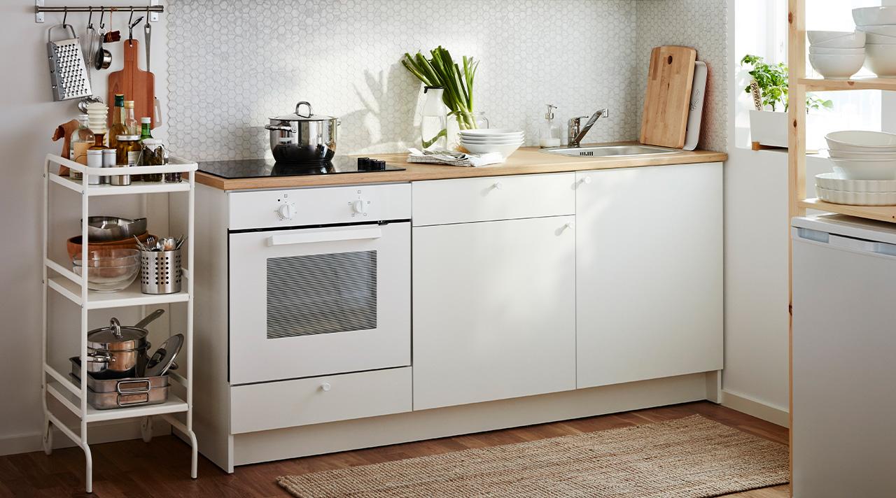 Как обустроить кухню за один день