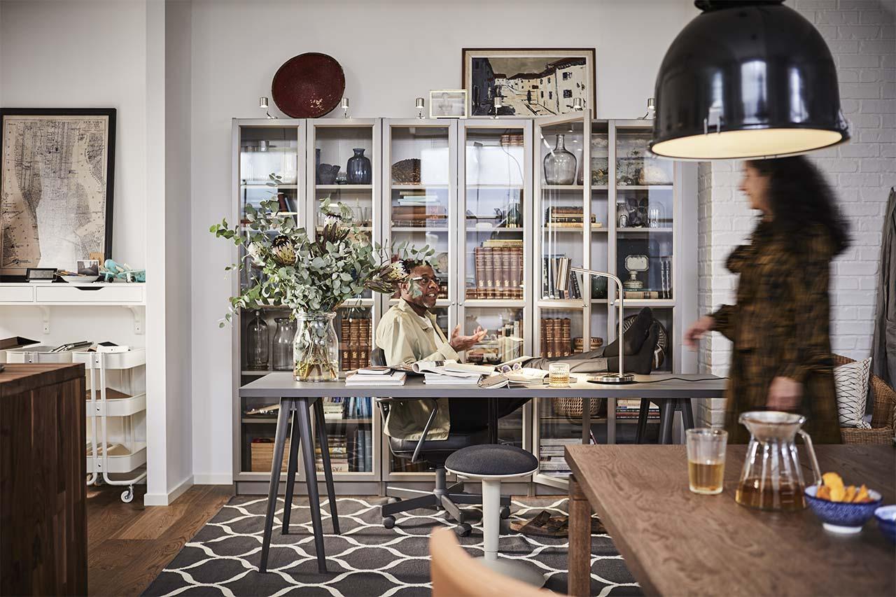 Interjero dizaineris pataria:   darbo ir poilsio pusiausvyra namuose