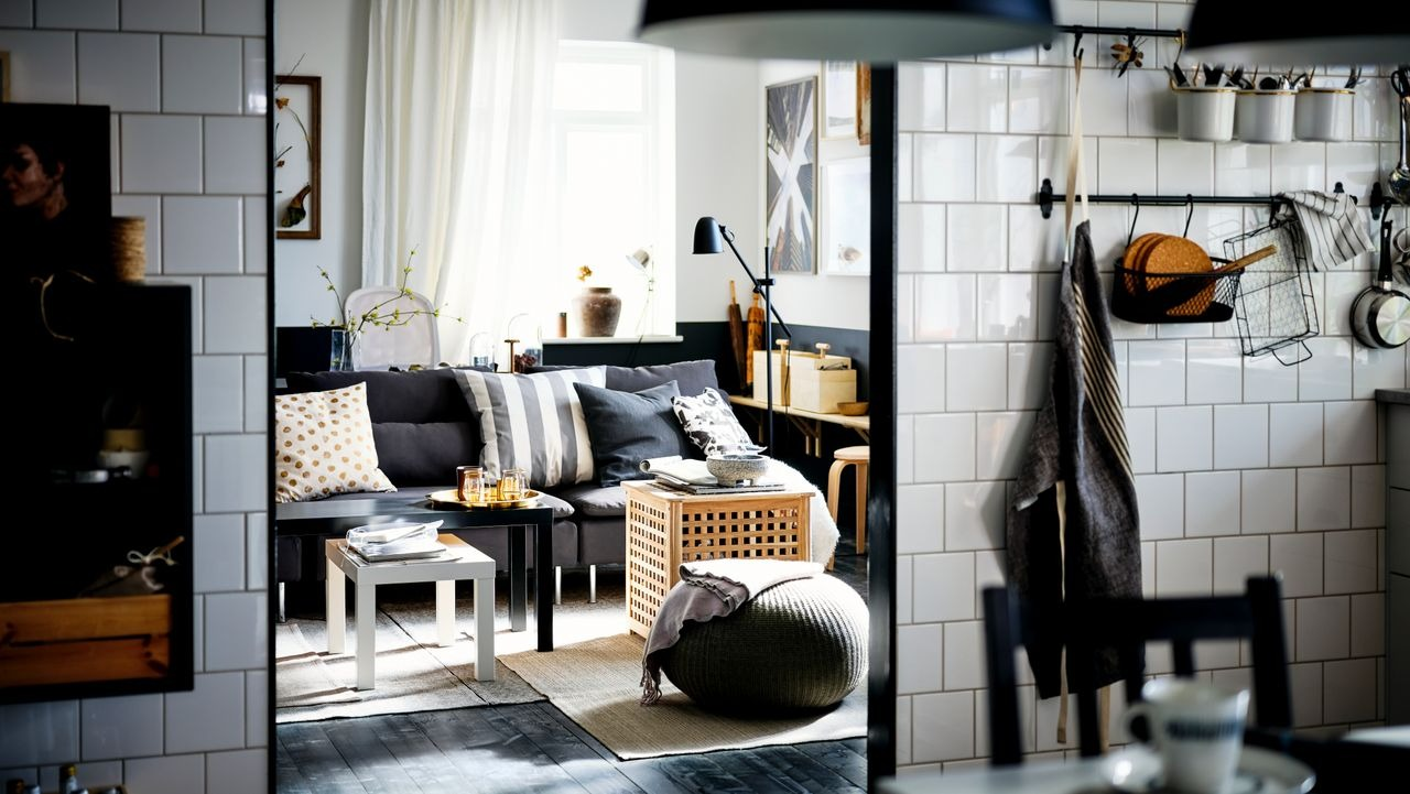 Ask a designer: creating a bold, black and white home on a budget